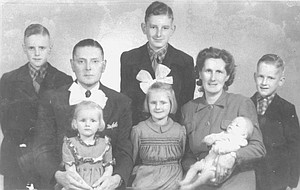 Hank Timmermans' family came from the Netherlands to the United States in December 1951, settling in the Outlook area. The family became naturalized citizens and the oldest boys all served in the U.S. military. Timmermans, (pictured center back) was 12-years-old at the time.