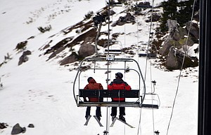 Christmas at meadows featured pleasant temperatures and smooth, spring-like slopes. Snowpack measurements show the Mount Hood region at just 26 percent of normal as of Dec. 26.