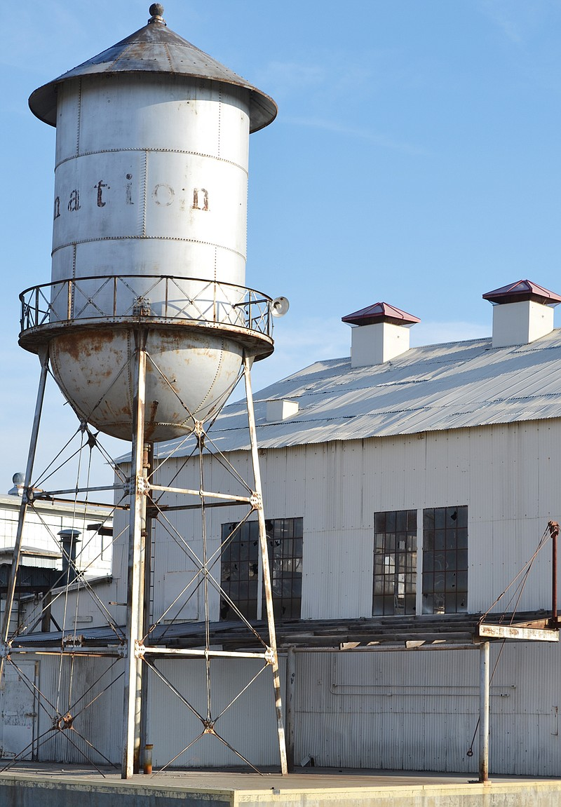 Water Tower Demolition 2013 : Port of sunnyside officials make major economic