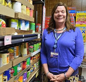 Local food banks are one avenue of service for Marianne Durkan of Hood River.