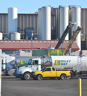 The largest valuation for a building project in Sunnyside last year was at Darigold, which in December received a permit to begin work on a $5.2 million expansion of its milk receiving bays.