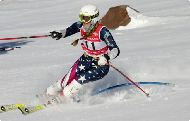 INDIVIDUAL WINNERS Lucy McLean  and Austin Keillor led the Hood River Valley High School ski team Saturday at the 24th annual Christine Cato Memorial Race at Timberline. The two juniors posted the fastest times of the day in the slalom race to win individual boys and girls titles.