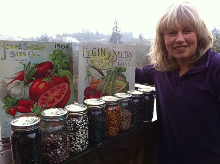 SEED SAVER Aera Adkins of Rockford Grange will speak at a Grange event in March.