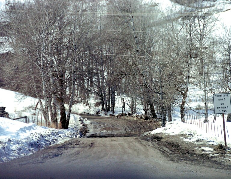 The body of Michelle Kitterman was found March 1, 2009, along this remote stretch of Stalder Road, near Crumbacher.