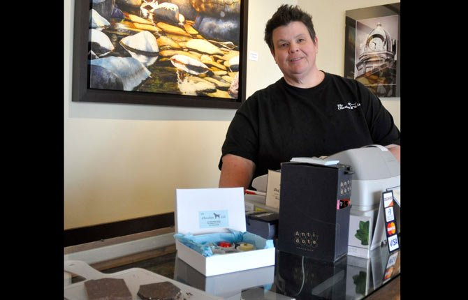 SUNDE CARROLL owns and operates The Chocolate Lab, a gourmet chocolate shop in downtown The Dalles at 214 Washington St.