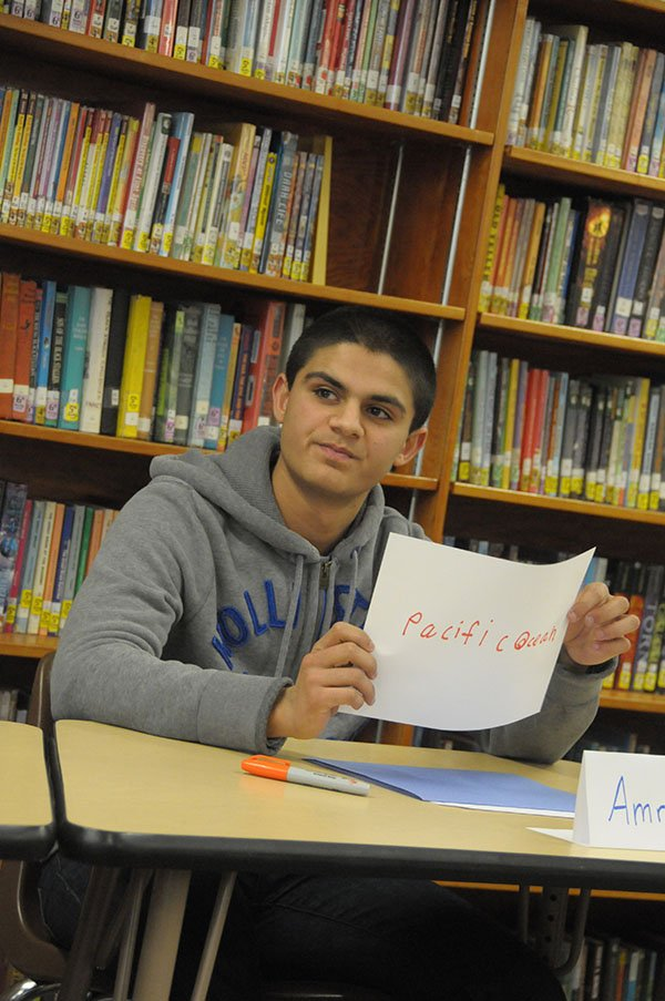 Amrit Singh of Grangeville Elementary Middle School, eighth grader, won his 2014 school bee.