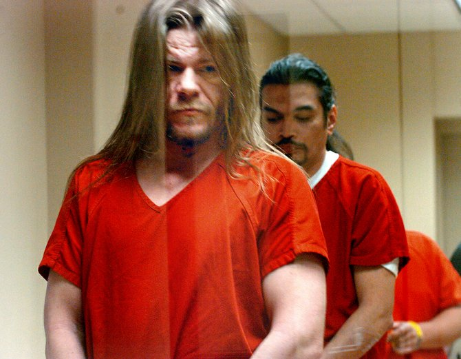 David Eugene Richards appears in 2010 in Okanogan County Superior Court for a hearing related to his involvement in the slaying of 25-year-old Michelle Kitterman of Tonasket.