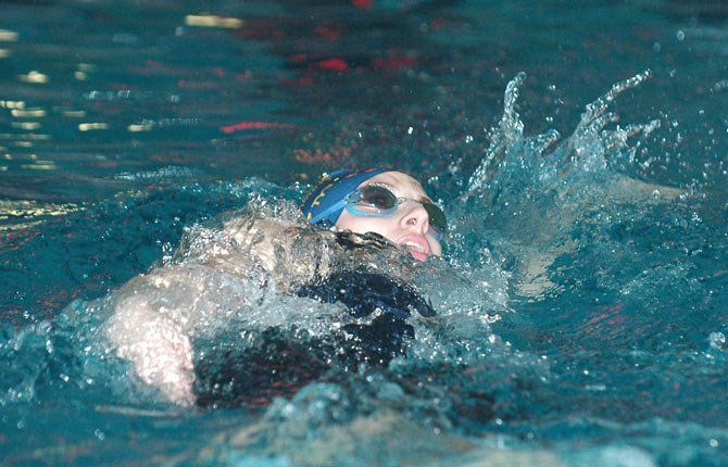 THE DALLES WAHTONKA swimmers were in La Grande Saturday and tallied seven top-3 finishes while competing against Hermiston, Pendleton, Baker City and La Grande. The Tribe boys and girls clinched third place.