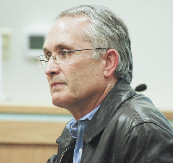 Yakima County Commissioner Kevin Bouchey was on hand at last night's Sunnyside City Council workshop meeting to urge the council to support gang prevention and intervention programs.
