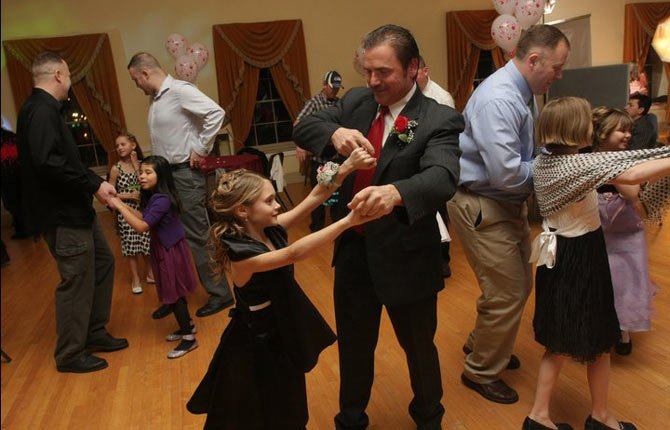 THE FIFTH ANNUAL Daddy Daughter Dance is set for Friday, Feb. 21, from 6 to 8 p.m. at The Dalles Civic Auditorium. This event has sold out every year, and has become a favorite for daughters and their father figures. All girls, grades kindergarten through eighth, are invited to bring a father figure of their choice. A live DJ is planned, as are a photo booth, arts and crafts, and light snacks and beverages. Tickets for the Daddy Daughter Dance are now available at Northern Wasco County Parks and Recreation District office, 414 Washington St. Suite 1D in The Dalles. For ticket prices and more information, call 541-296-9533.
