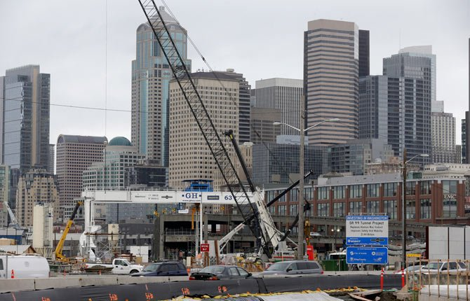 "The Washington state Transportation Department says the contracting team trying to dig the tunnel under downtown Seattle has advised that it will ""take months"" to fix broken seals on the world's largest tunneling machine."