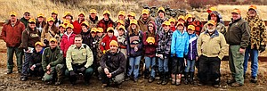 The first section of this year's two Grangeville-area hunter education courses certified about 30 new hunters.