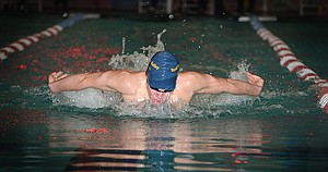David Walker took the boys CRC district title in the 200 IM. He also won the 100 backstroke.