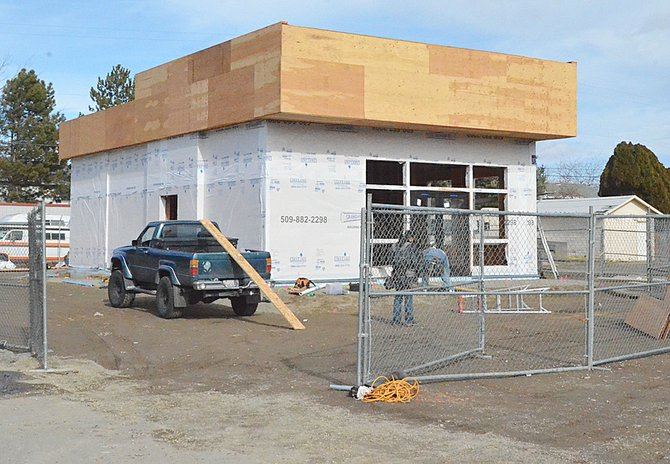 Papa Murphy's, owned by Don Copp, is constructing a new store in Grandview across the street from Safeway. The store is planned to be open at the end of April.