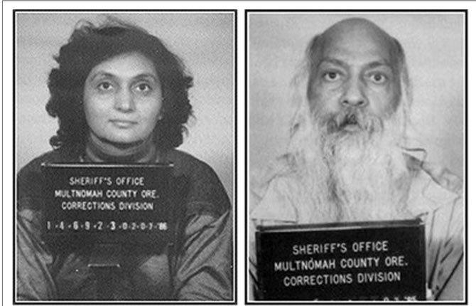 MA ANAND SHEELA and Bhagwan Shree Rajneesh were key figures in the founding of the Rajneeshi movement in southern Wasco County.