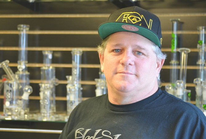 Stonies' owner Dave Rand opened the Grandview store about a week ago and has plans to eventually expand into Sunnyside.