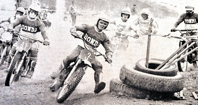 Motor Cycle Race 4-14-1974