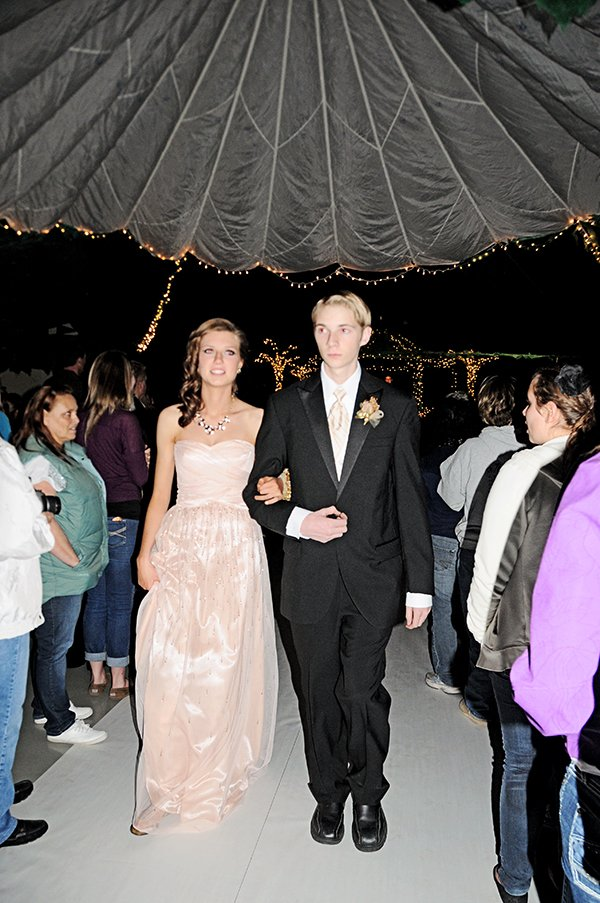 The Princess Project hopes to make it possible for all students to enjoy prom, such as these students who attended Grangeville High School's prom in 2013. The project gives away prom attire to students.