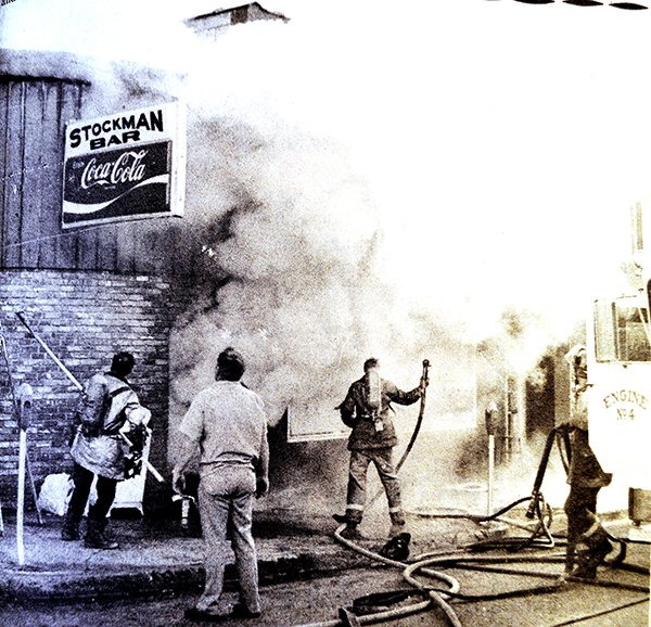 Stockman Bar Fire