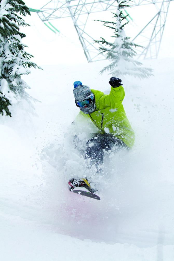 Stevens Pass has received 90 percent of normal precipitation for the winter, providing plenty of powder for snowboarders, skiers and other outdoor sports enthusiasts.