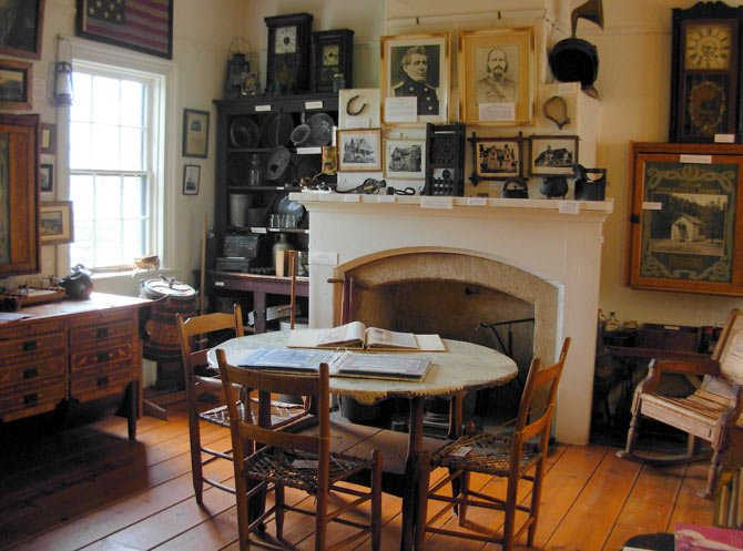 FORT DALLES MUSEUM will be open Fridays, Saturdays and Sundays from 11 a.m. to 4 p.m. The interior of the museum surgeon's quarters is pictured. From March 21 through April 6, the museum will have special spring break hours, open every day from 11 a.m. to 4 p.m.	  Contributed photo