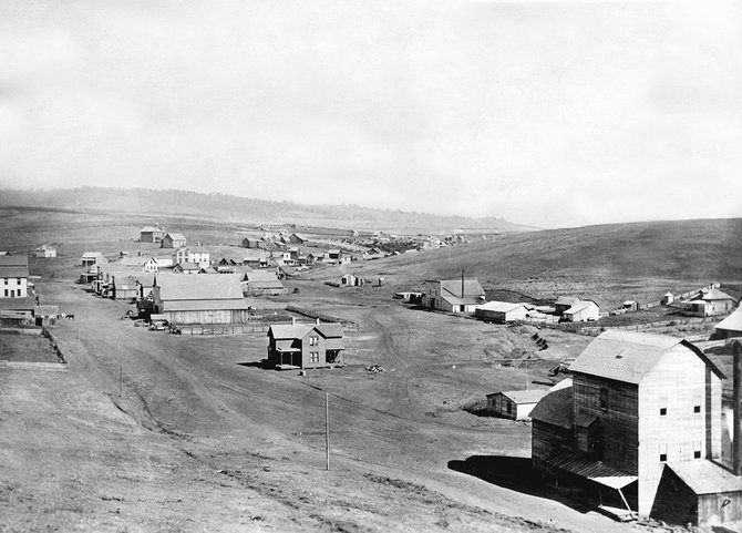 A view of Cottonwood circa 1900