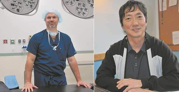 Dr. Jeffrey Mathisen and Dr. Paul Moon recently started at Skyline Hospital's general surgery team. Mathisen and Moon split their time between Skyline and their practice in The Dalles.