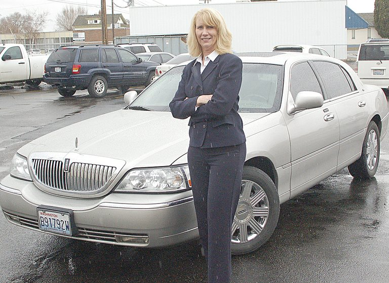 Cindy Tucker is the owner and top driver for Elegant Wine Country Limousine. She offers tours and trips for dinner anywhere in the state, or for a short trip to the local market if so desired.