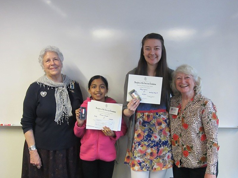 Acevedo walker win dar essay contest hood river news