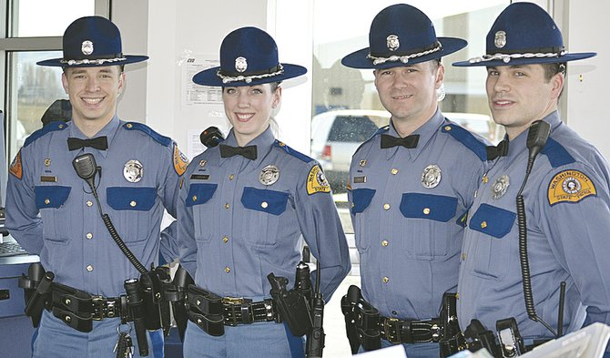 Lower Valley Welcomes Four New State Troopers Daily Sun News