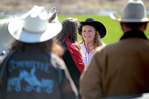 Dakota Matson, 16, of Nezperce, made a strong case last Saturday, March 22, for her selection as queen of the 25th Annual White Bird Rodeo and was crowned such later that afternoon.