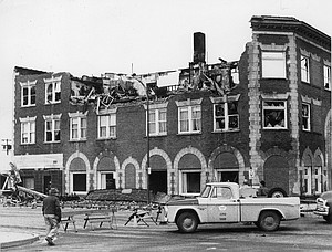 Imperial Hotel Fire - February 1966