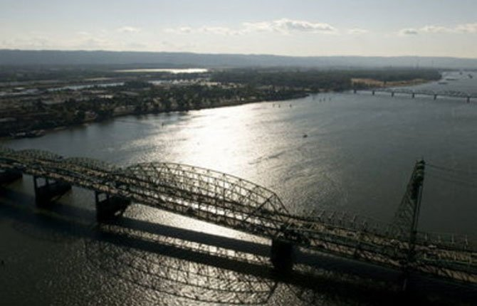THE WASHINGTON State auditor's office questions $17 million of the $188 million the state spent on plans to build a new Interstate 5 bridge across the Columbia River before the project was aborted.