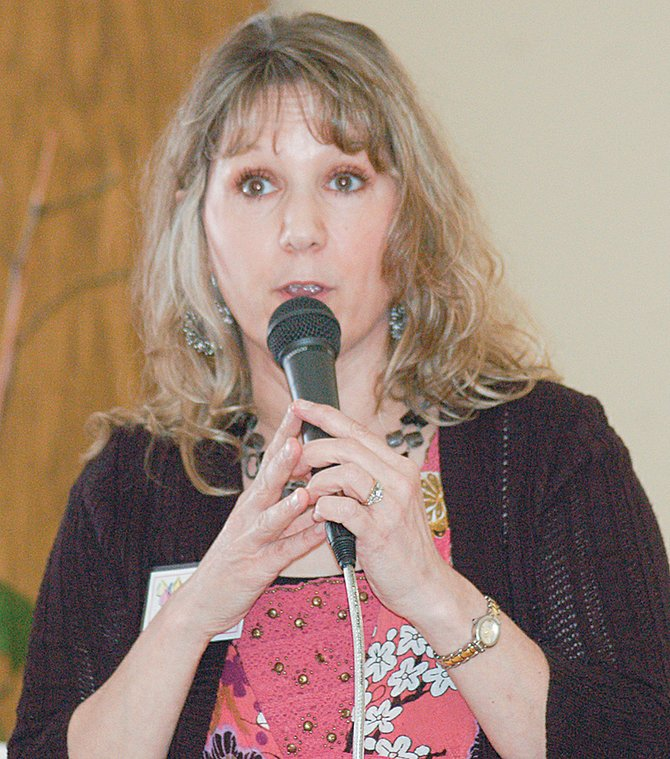 Tammy Ortung spent more than 25 years in the U.S. Air Force, an experience that has put her on a path to reach out to military families on 22 military bases around the United States helping women to connect with God.  Ortung recently was the guest speaker at the monthly meeting to the Lower Valley Christian Women's Connection in Prosser.