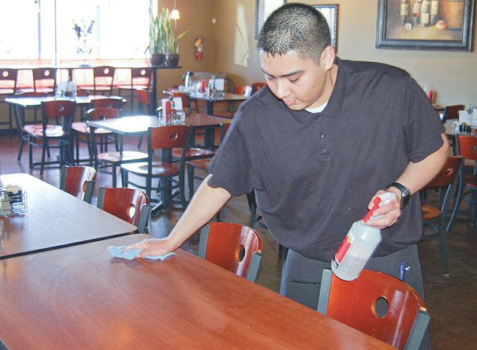 Ray Gonzalez is taking a year off school to get experience working in a restaurant. He plans to attend the Art Institute of Seattle next year to learn how to be a chef.