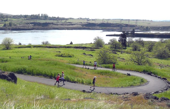WATER'S EDGE FITNESS Festival features a duathlon, half-marathon and 10K along the Riverfront Trail and other scenic routes around The Dalles the morning of Saturday, May 3.