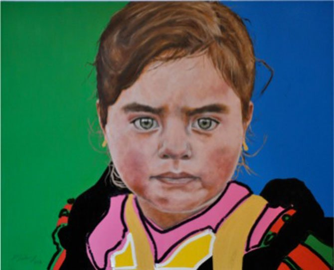 LATINO ARTISTS will be featured in the Viva Los Artistas exhibit at The Dalles Art Center for the month of May with the opening reception tonight, May 1, from 5 to 7 p.m. The event is free and the public is welcome. Light appetizers will be offered by Casa El Mirador, music by Los Temerosos. Local Latino artwork and well-known NW Latino artists are featured in the exhibit. Many of the artists will be present at the opening. Pictured is La Guera del Pueblo by Pablo Solares. The Dalles Art Center is located at 220 E. Fourth St., The Dalles. Online: www.thedallesartcenter.org.Contributed photo