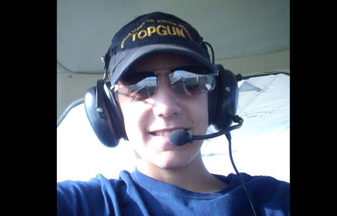 long-time fan of aviation William Decker enjoys a plane ride in style.Contributed photo