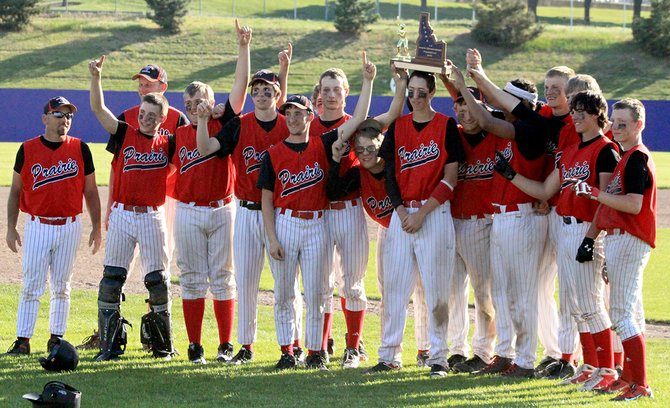 The 2014 Prairie High School baseball team marked its renaissance with a run to the 1A state championship last Friday and Saturday, May 16-17, at Lewiston's Church Field.