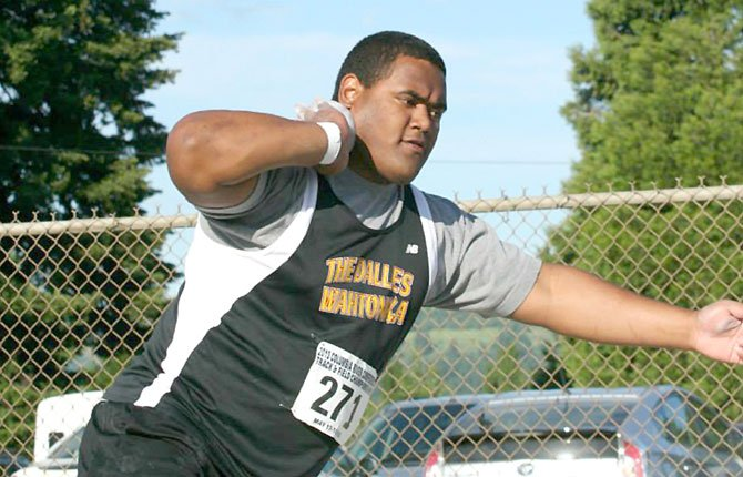 THE DALLES track athlete Lio Tunai competes in track and field events across the state. Coming up on Friday at Hayward Field in Eugene,he will lay it on the line for a chance at state supremacy.