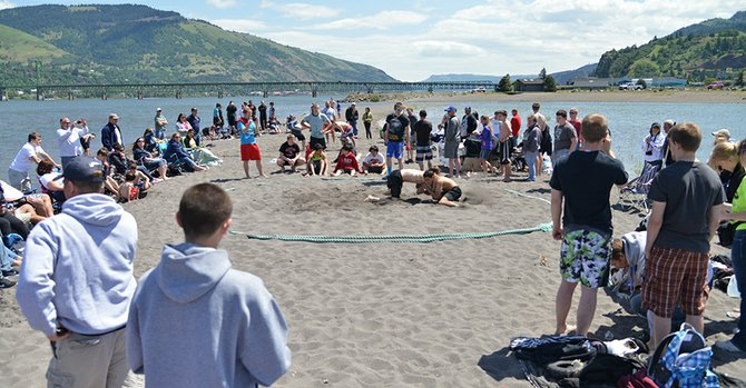 2014 Oregon Beach Wrestling State Championships.