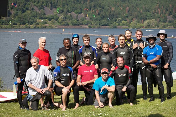 Gorge cup racers who turned out for the first heats of the 2014 season.