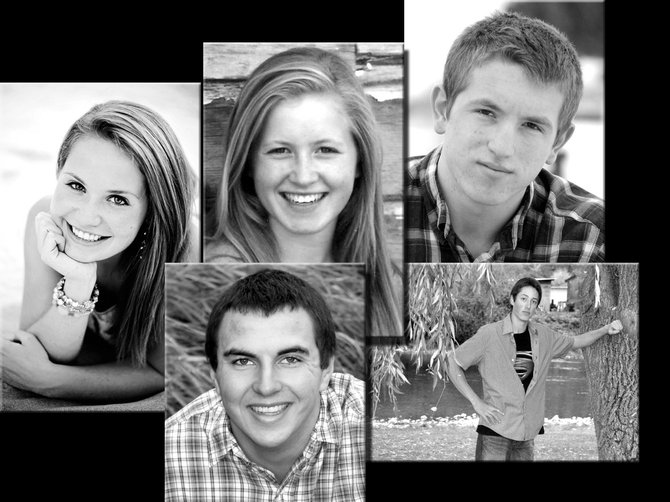 Top Row (L-R): Rebekah Bruner; Nicole Wemhoff; Andrew Cochran.