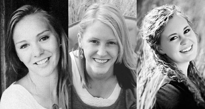 Sarah Chmelik;  Katherine Hauger; Adrianne Nuxoll.