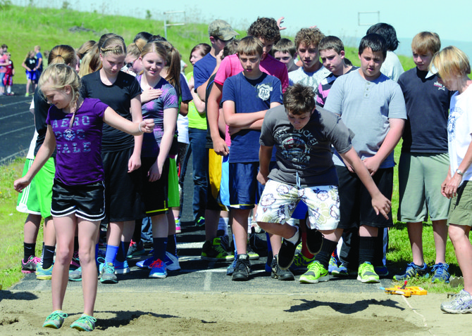 With the school year rapidly drawing to a close, GEMS students spent last Friday morning, May 23, running, jumping and throwing at the Grangeville High School track.