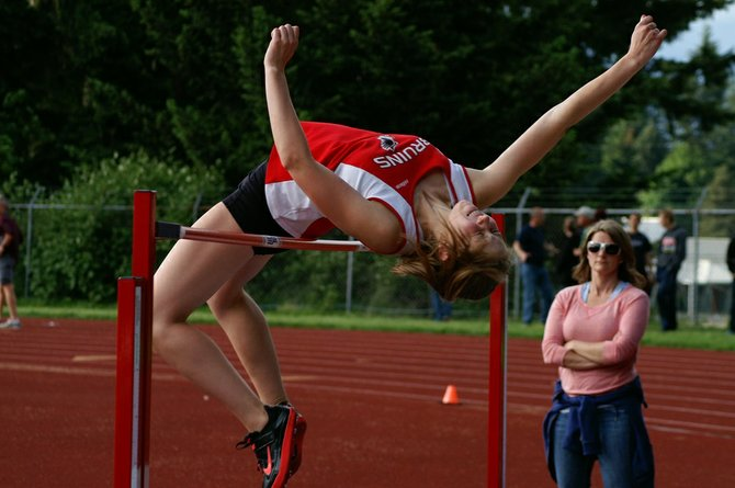 Columbia High athletes will be competing in 13 events at this weekend's WIAA Class 1A Track and Field Championships at Eastern Washington University in Cheney.  The event runs May 30-31. Sophomore Lauren Thiesies will be going to state in the high jump after finishing four in the district competition.