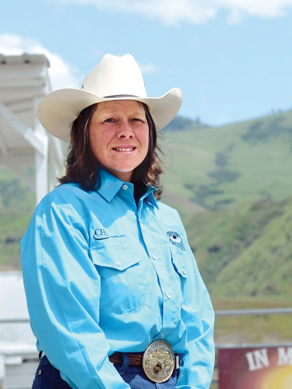 White Bird Rodeo vice president Shelley Neal knows the rodeo's 25-year history; she has been one of its organizers since the very start.
