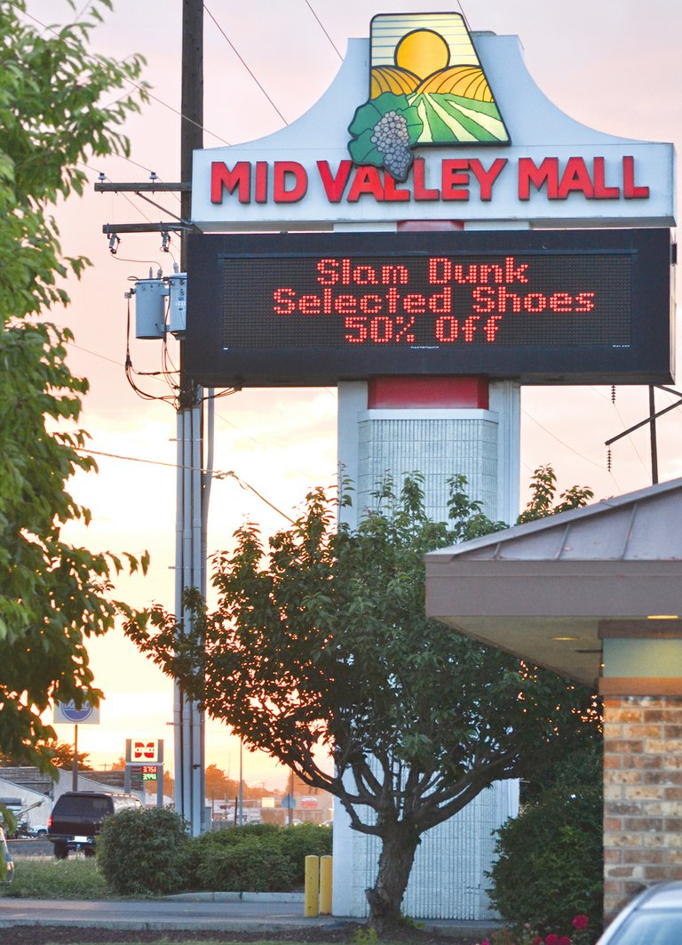 Renovations valued at $60,000 are in store for the Mid Valley Mall, according to building permits filed with the city of Sunnyside in May.