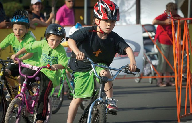 Kai Shays competes in the 2013 Mt. Hood Cycling Classic Kids' Bike Race.	Chronicle file photo