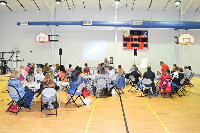 The Sunnyside Community Center yesterday, Thursday, was the site of a four-hour Making Sunnyside Better workshop. It was the second of four workshops planned for the community.